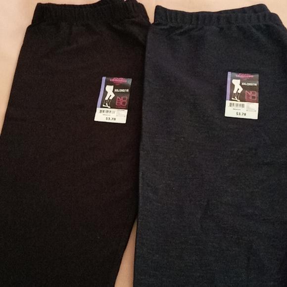 Capri leggings (2) pairs